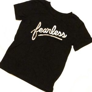 Cat & Jack Toddler Boy Fearless Tee